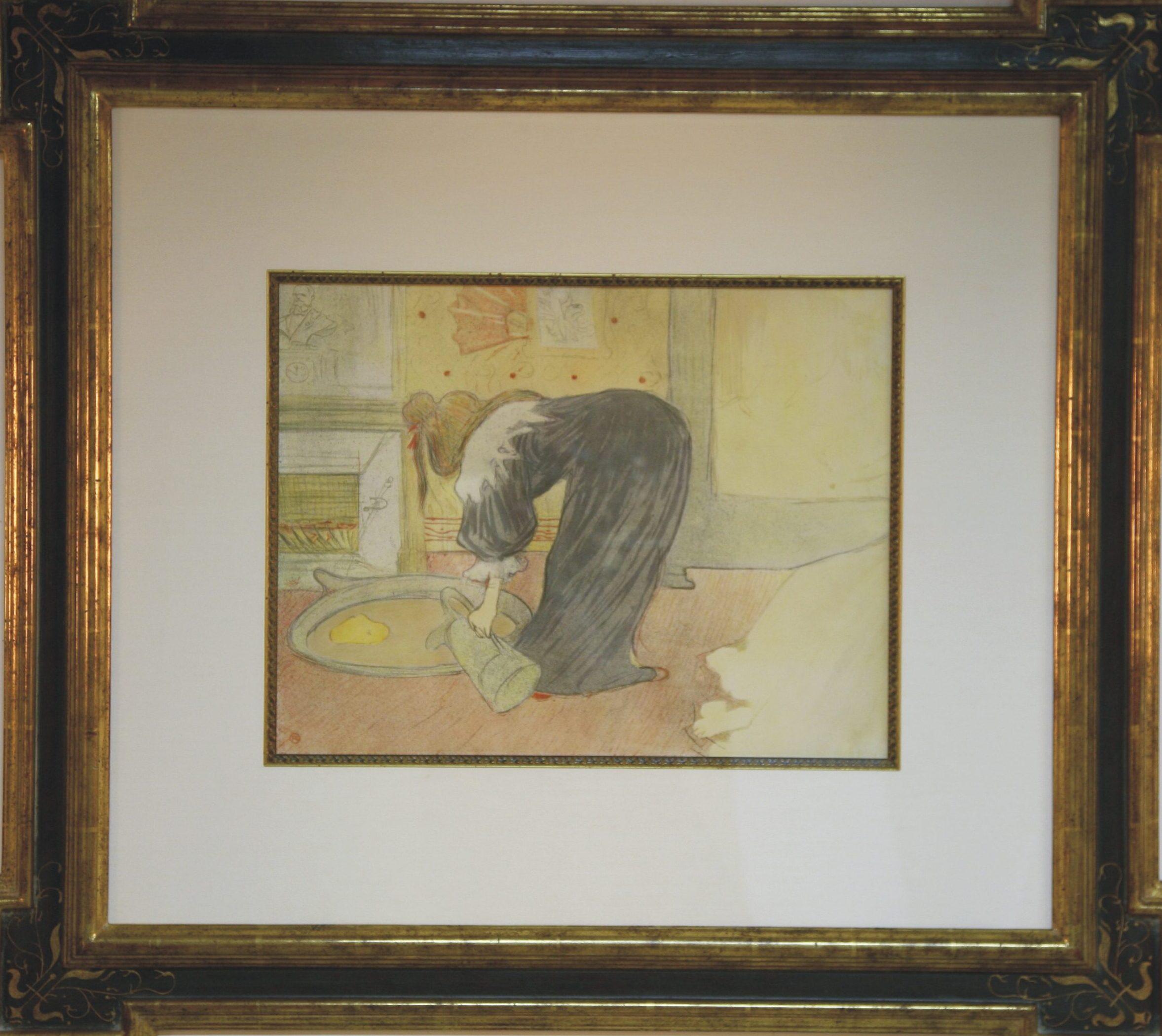 Lautrec: Femme Au Tub