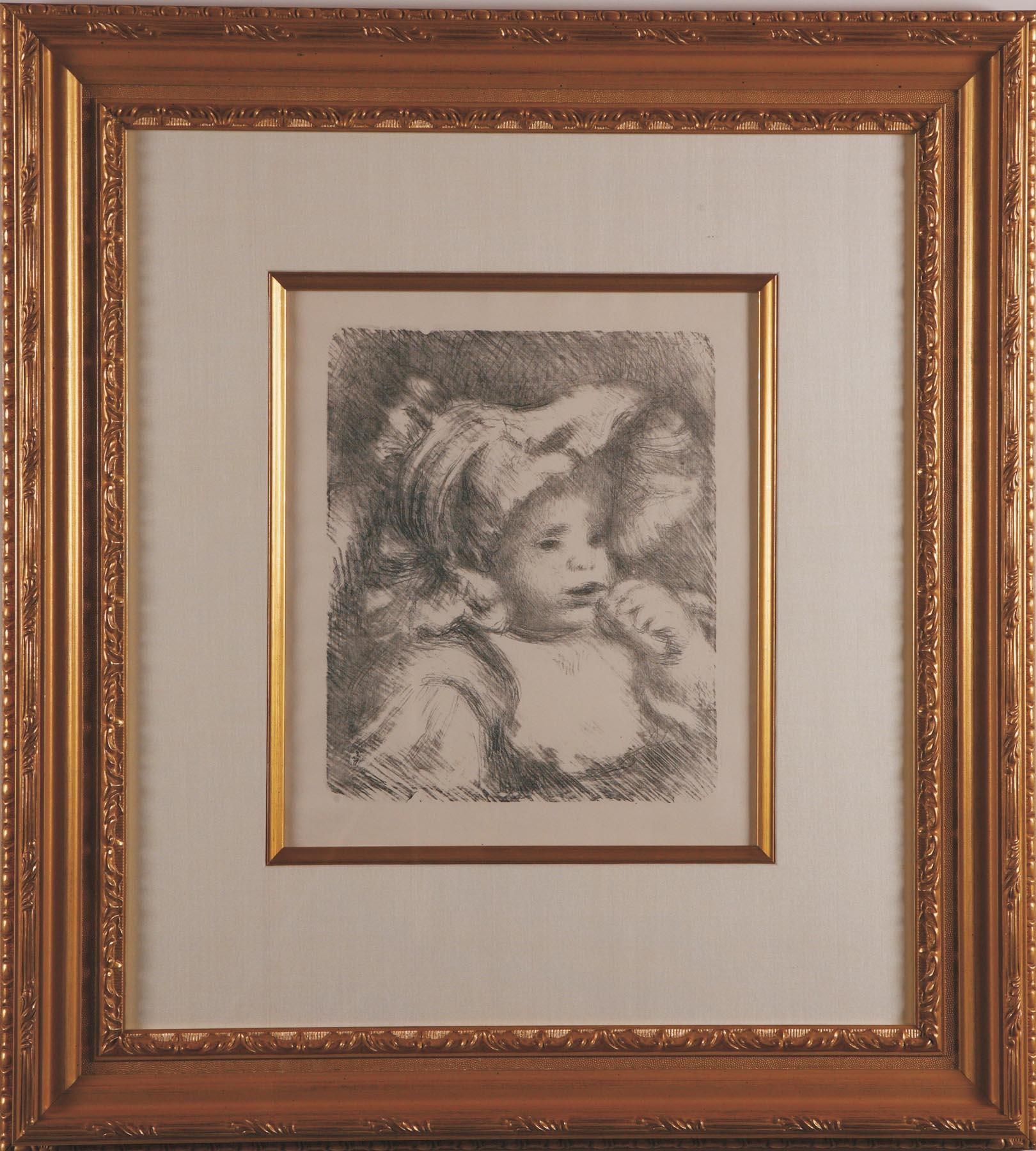Renoir: Lenfant Au Biscuit 1225