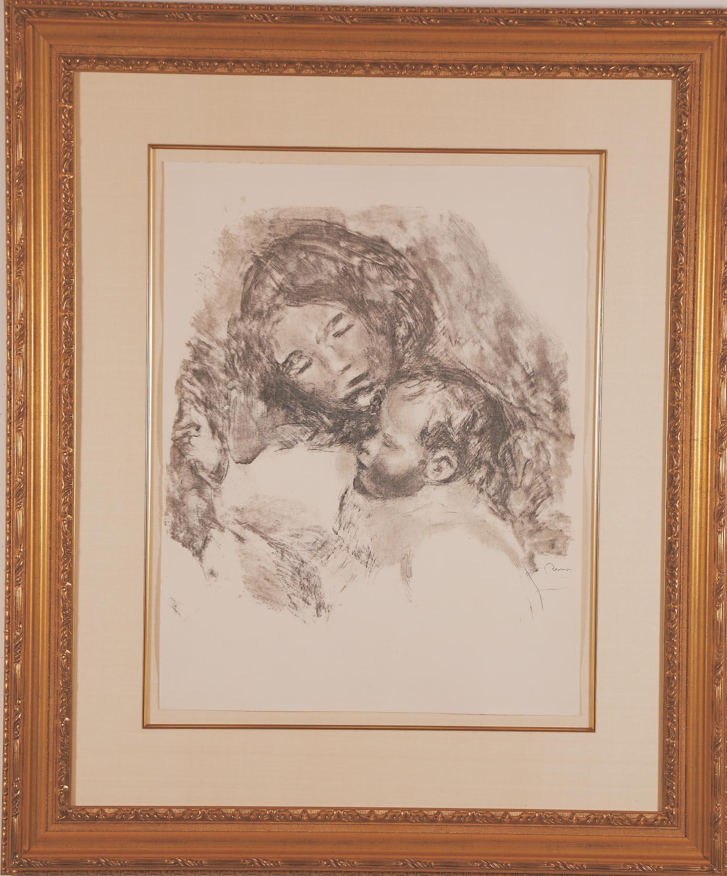 Renoir: Maternite Grand Planche 1543