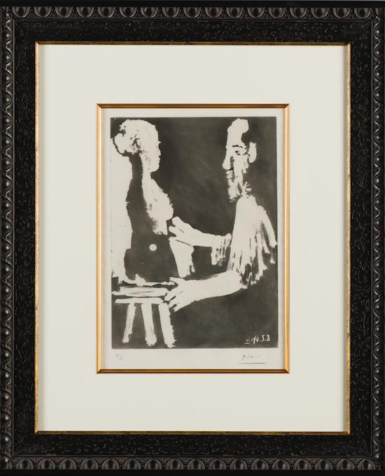 Picasso: Sculpteur De Travail 2032