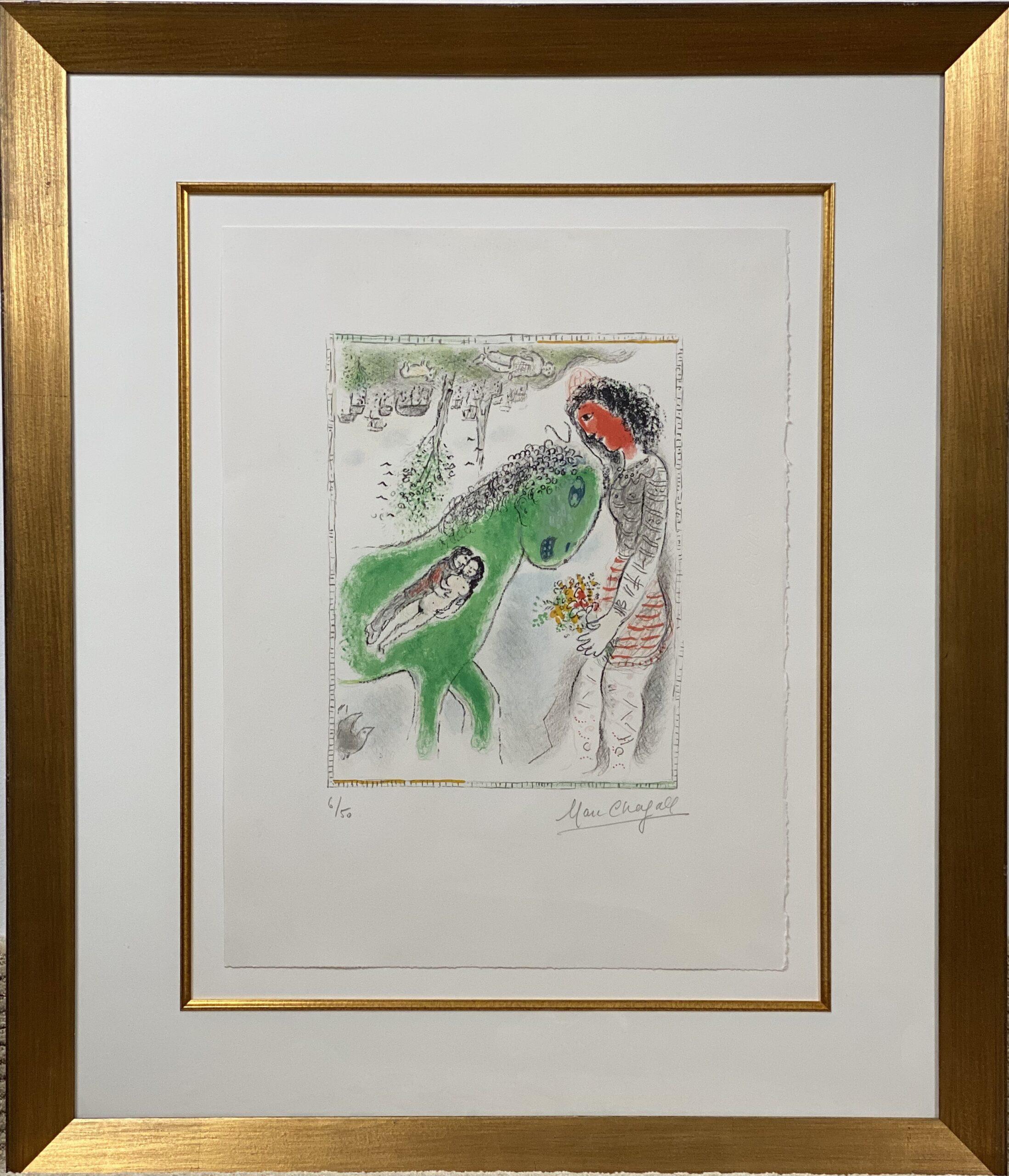 Chagall: Green Horse 2201
