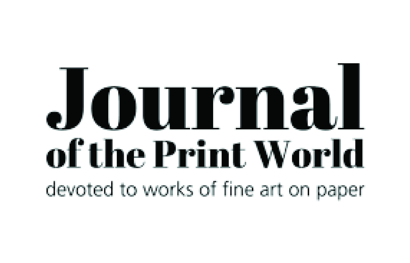 Journal of the Print World logo